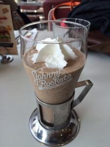 Milk Shake at Johnny Rockets