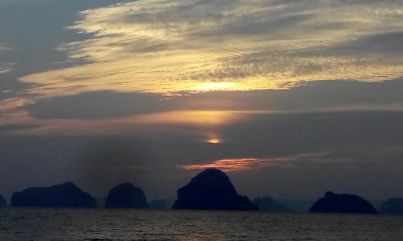 Sunset at Krabi
