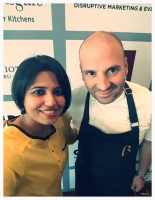 George Calombaris at WOAP press conference