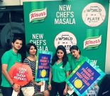 Knorr India team launching the new chef's masala