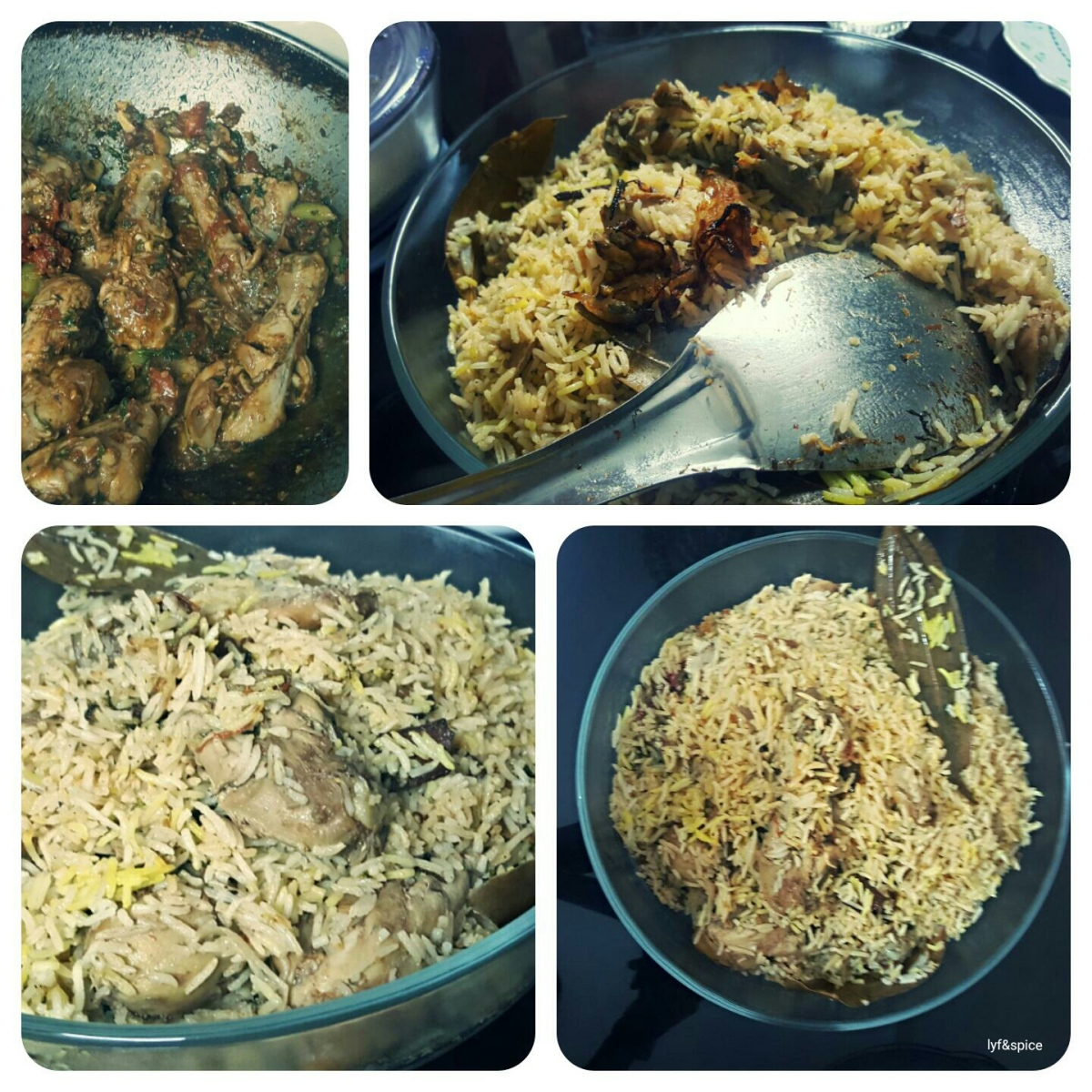 Home made chicken biryani lyf spice for Chicken biryani at home