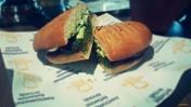 The yummiest veg burger!