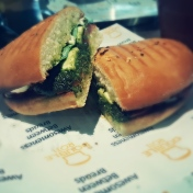 The yummiest veg burger!