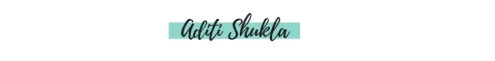 Aditi Shukla e-signature