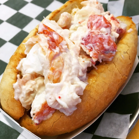 James Hook and Co Lobster roll