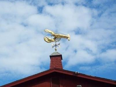 James Hook and Co Lobster wind vane
