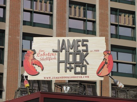 James Hook and Co Sign