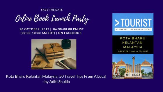 Online Book Launch Party
