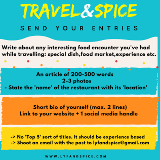 Travel&Spice Poster