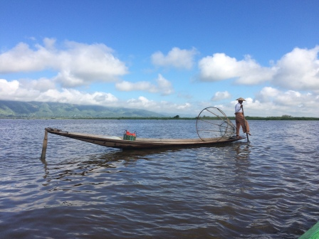 ASocialNomad Inle Lake Fisherman