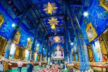 Wat Rong Sua ten , Chiang Rai, Thailand , วัดร่องเสือเต้น , เชียงราย