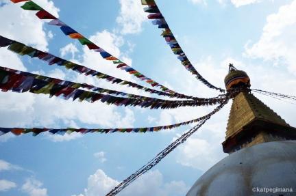 Boudhanath Stupa Kathmandu Nepal katpegimana.jpg